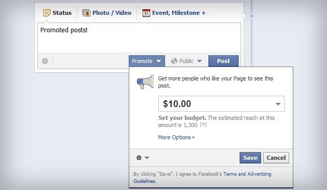 facebook promoted posts 640 - Why 2014 is the Year of Social Media Advertising