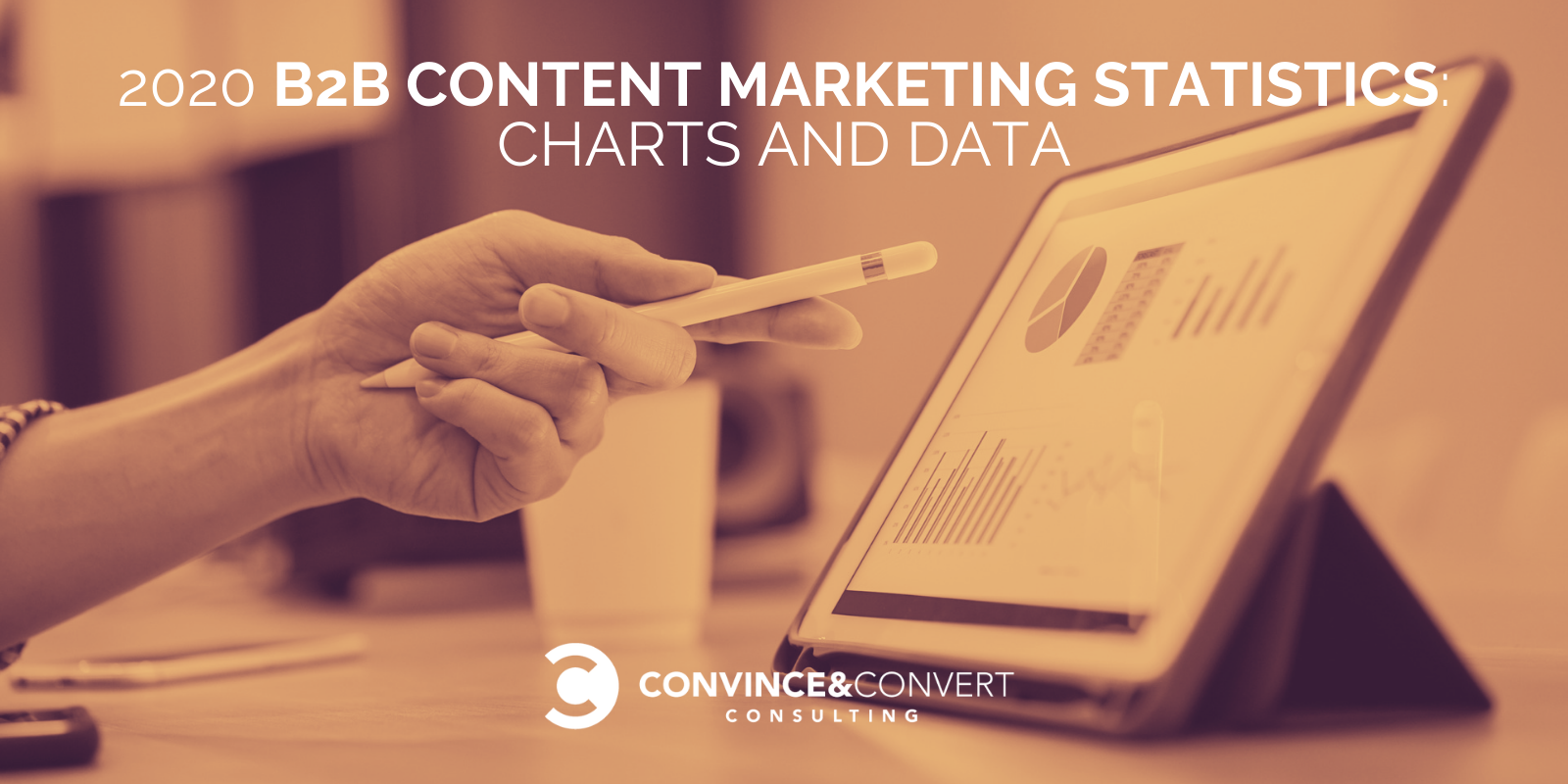 2020 B2B Announce material Marketing Statistics: Charts and Data