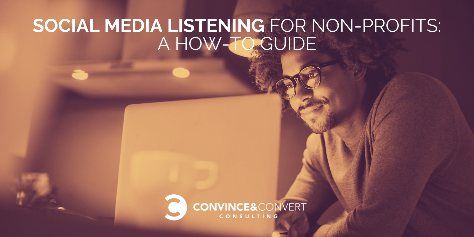 Social Media Listening for Non-Profits: A How-To E-book : Dispute Marketing Consulting and Social Media Approach