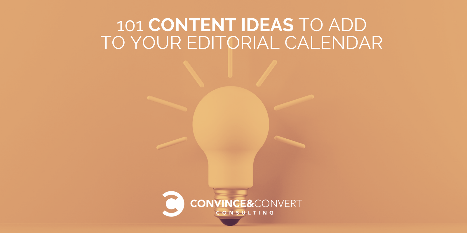 101 Recount Suggestions to Add to Your Editorial Calendar