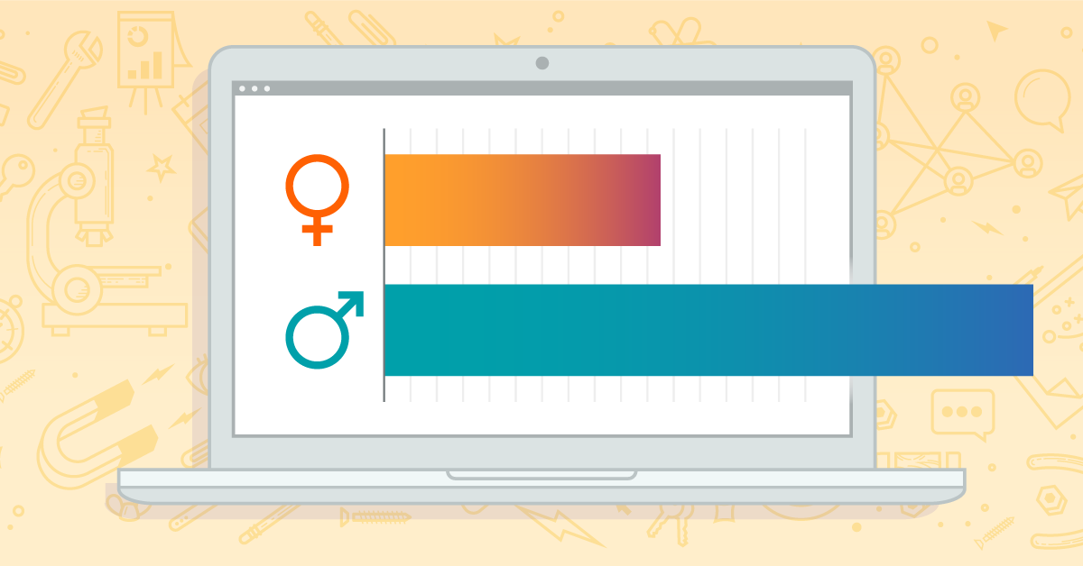 How Big Is the Gender Hole Between Males and Females in SEO?