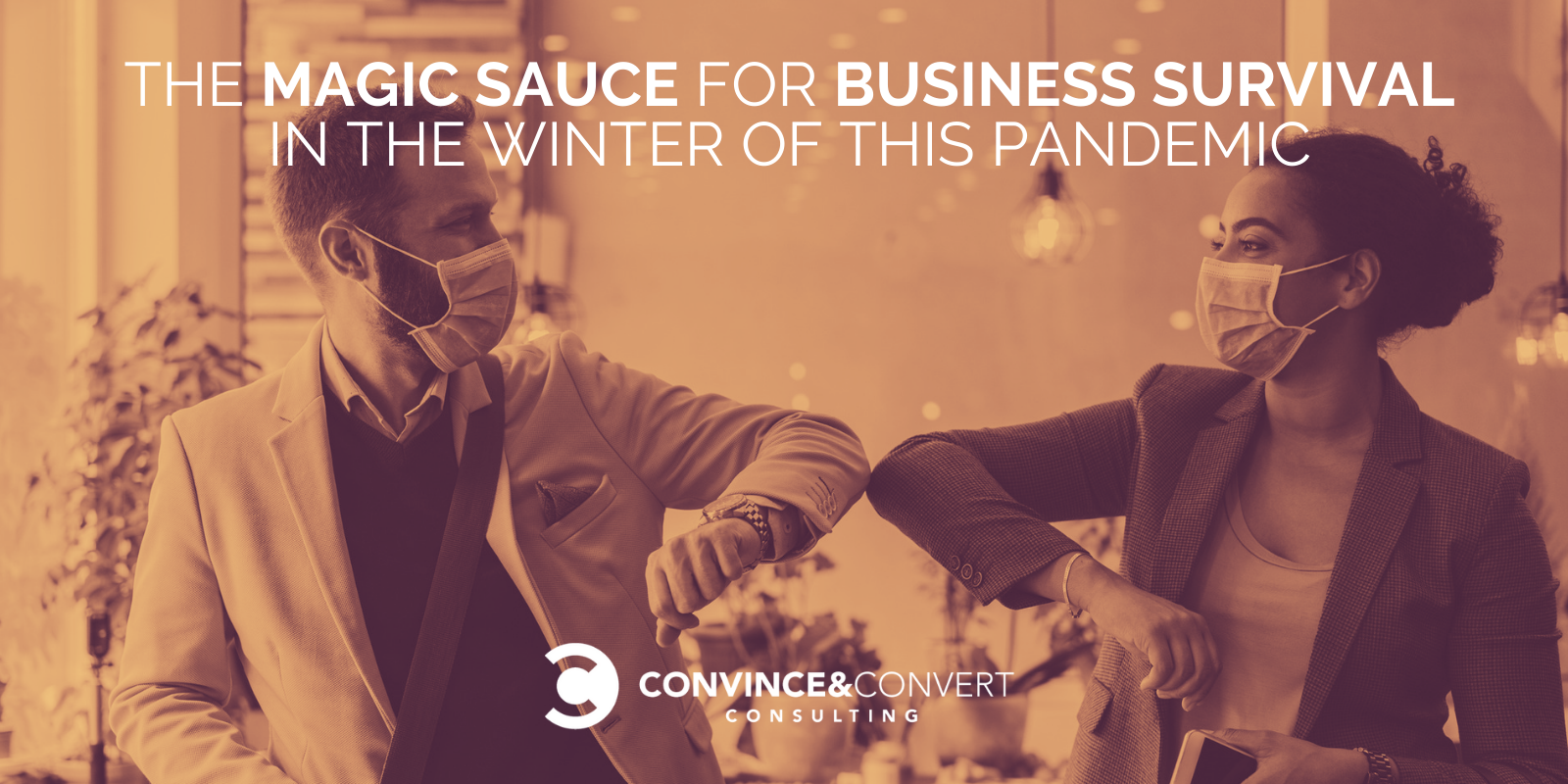The Magic Sauce for Alternate Survival within the Iciness of this Pandemic