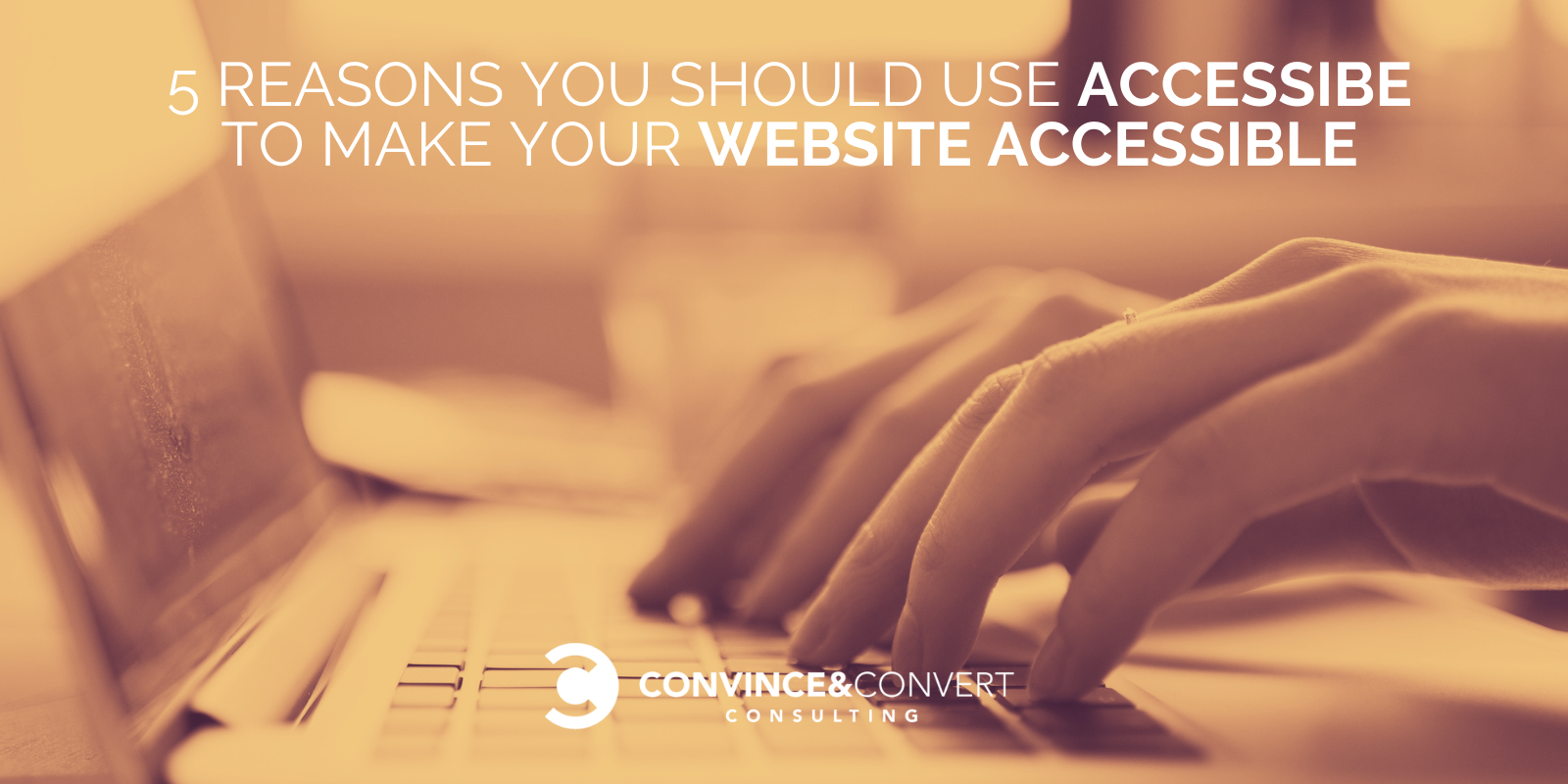 5 Reasons to Exhaust accessiBe to Kind Your Web space Accessible – Allege Advertising and marketing Consulting and Social Media Approach