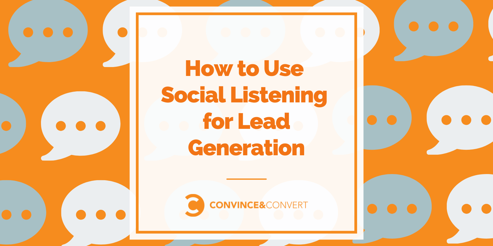 Discover how to Exercise Social Listening for Lead Technology